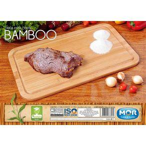 Tabua em Bambu para corte tamanho grande -50 x 30 - 003357