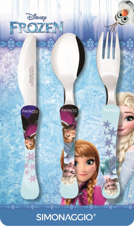 Faqueiro com 3 peças - Frozen - kids