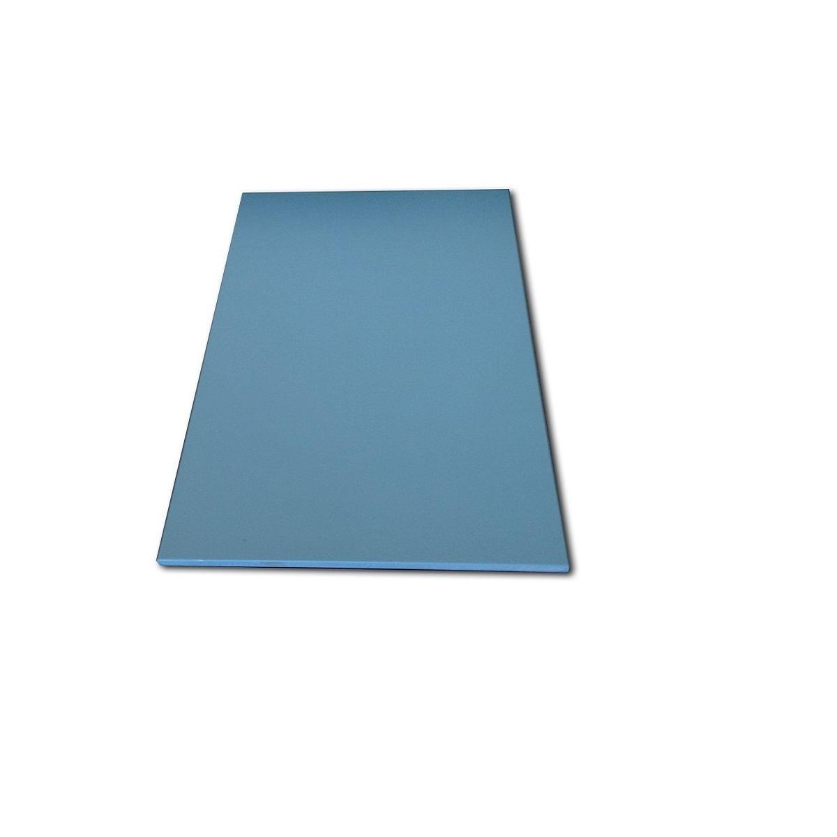 Conjunto de 5 (cinco) tabuas LISAS polietileno - coloridas - Medias