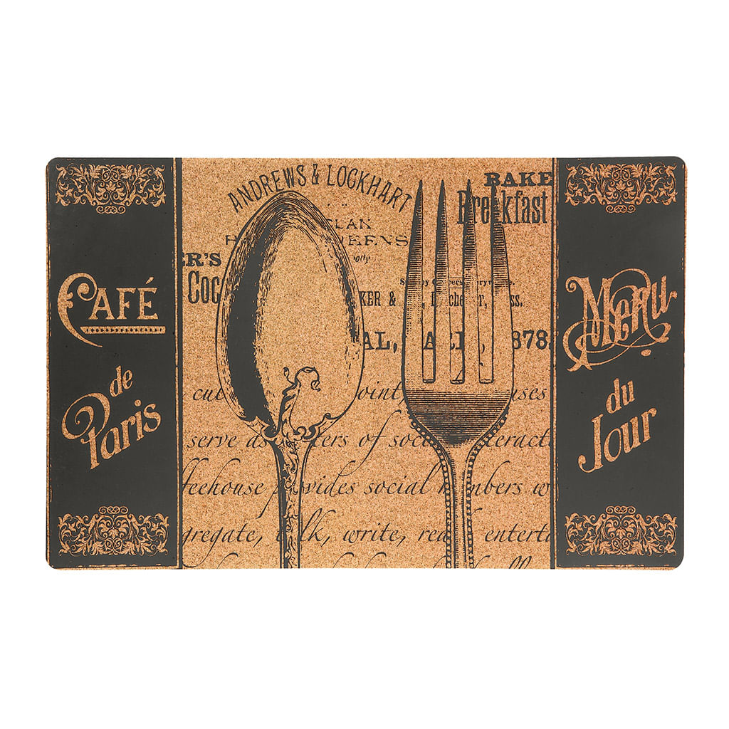Jogo Americano Cafe Paris e Caneca Mocha