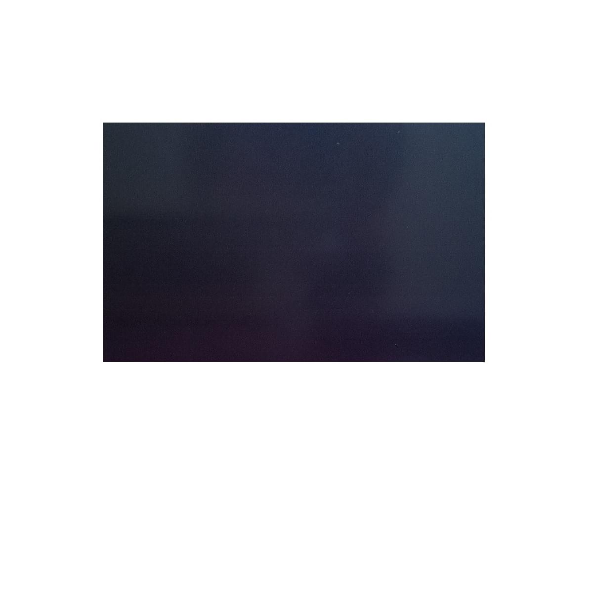 Tabua Corte LISA polietileno Preta e faca com chaira - 60x40