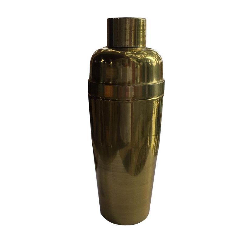 Coqueteleira  550 ML Dourado Envelhecido