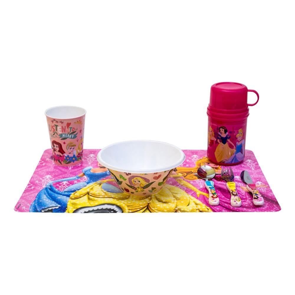 Kit lanche original Princesas Disney 5 itens