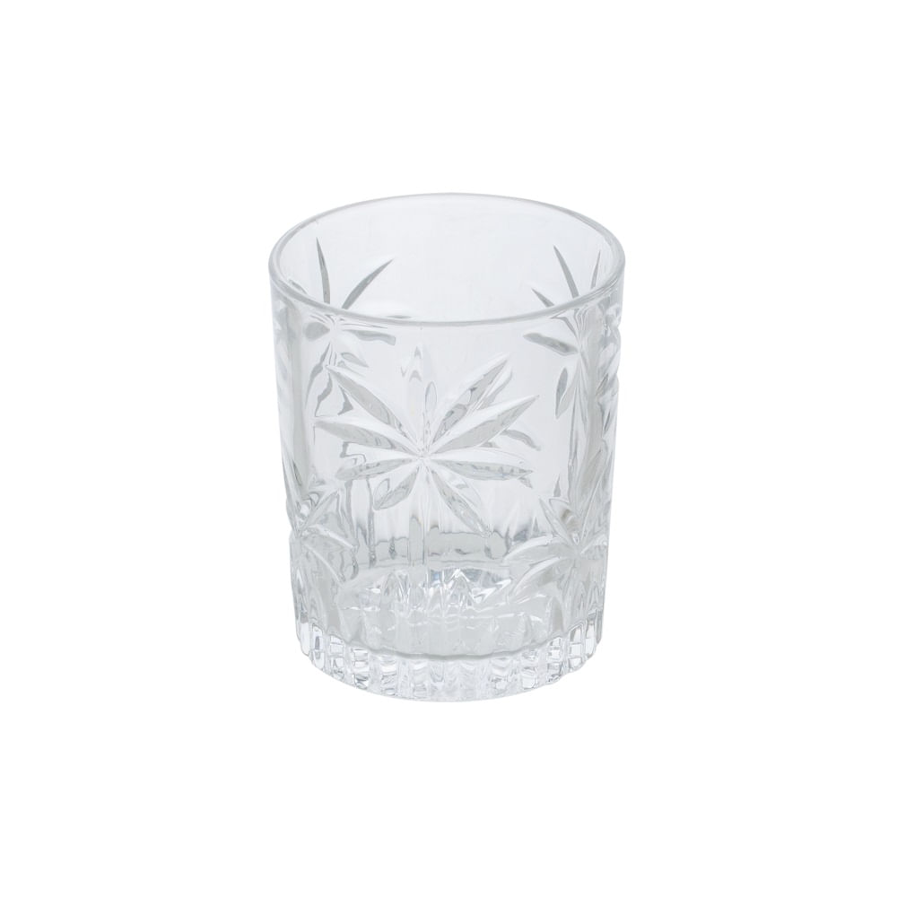 Jogo de 6 copos cristal para whisky - Coqueiros - Uisque