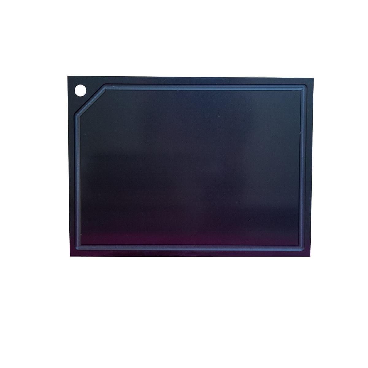 Tabua Corte Canaleta polietileno Preta 60 x 40 Luva termica