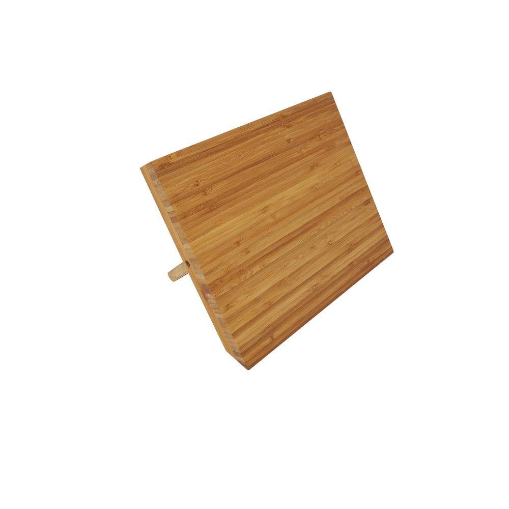 Suporte Magnetico de Bambu, para facas - de mesa - Nirosta