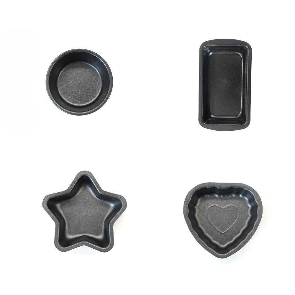 Conjunto de 4 mini Formas - Zenker