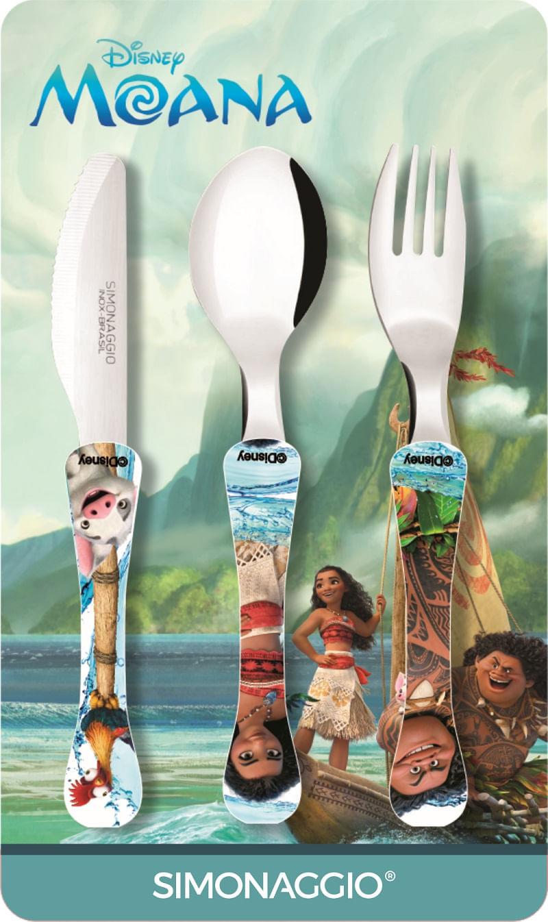 Kit Moana, Copos, Bowl, talheres -  Disney