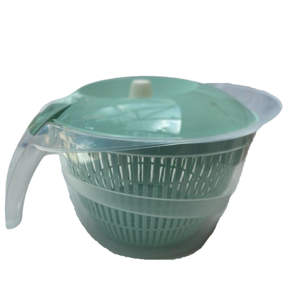 Secador de saladas manual 4 litros
