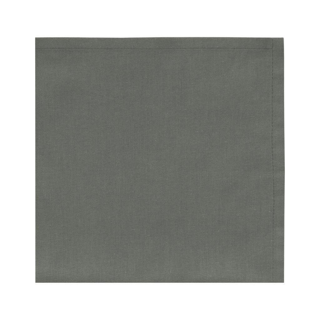 Guardanapo 4 unidades Liso Grafite 40x40 100% algodao